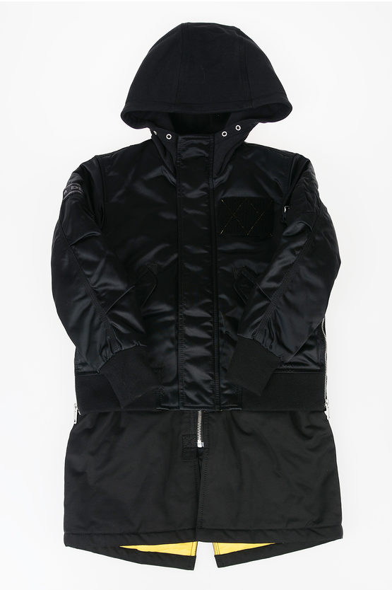 Nylon Hooded JKINGS Jacket