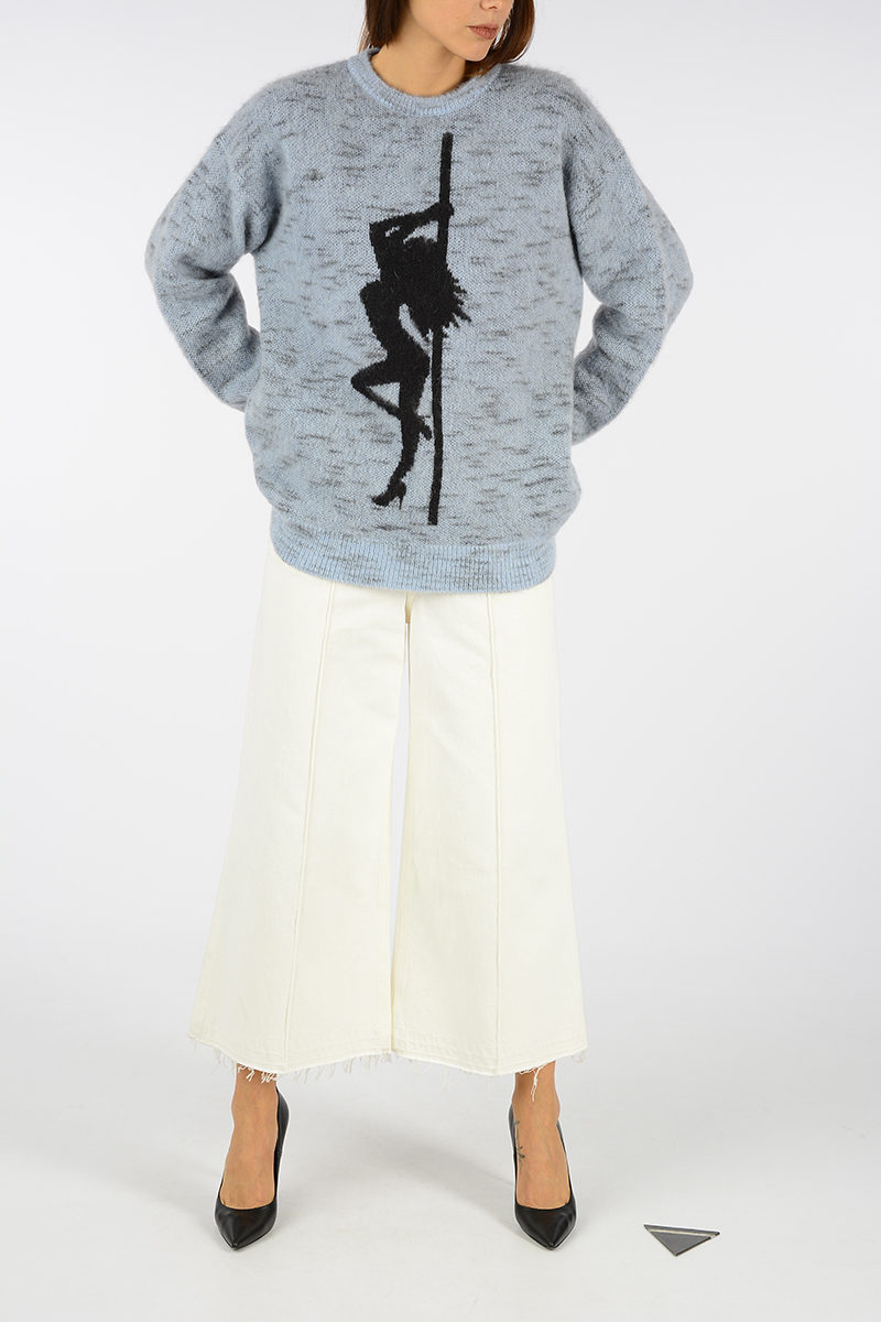 eea99ad8a9 Alexander Wang Oversized Crewneck Sweater women - Glamood Outlet