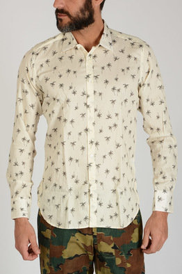 Palms Print DAVID Shirt Spring/summer Bevilacqua