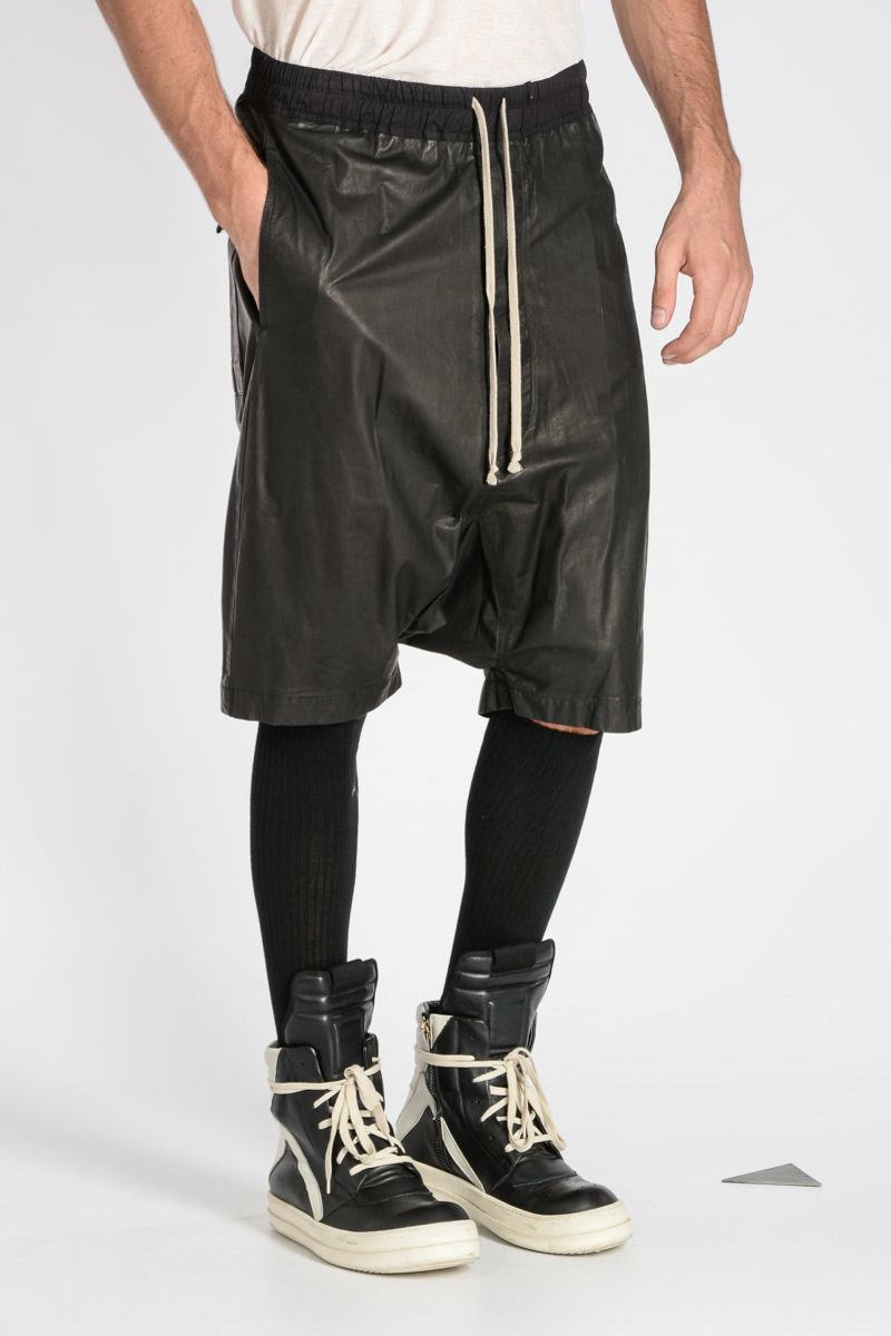 sports shoes 1ae36 ab2af Pantaloni Corti BOXER PODS in Pelle