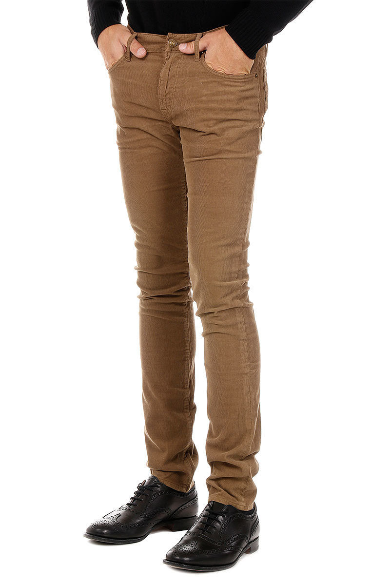 in Burberry Stretch Outlet Pantaloni Glamood Slim Fit Cotone uomo qwgRHtPzwx