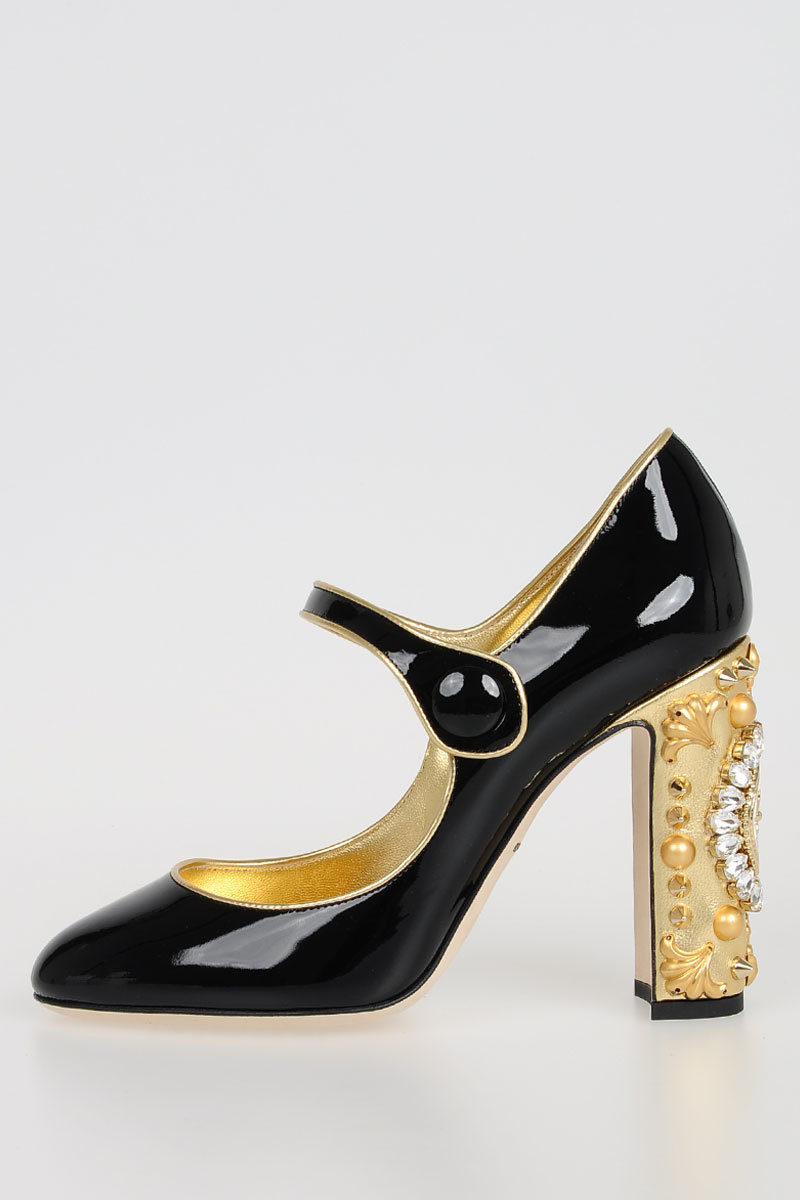 Patent Leather Decolletes Fall/winter Dolce & Gabbana Cheap Purchase Outlet Best Prices oCKs3