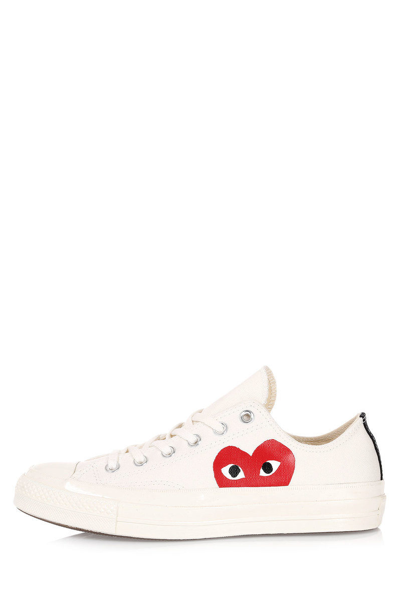 Converse PLAY COMME Des GARCONS Fabric Sneakers men - Glamood Outlet 7e6c7365262c