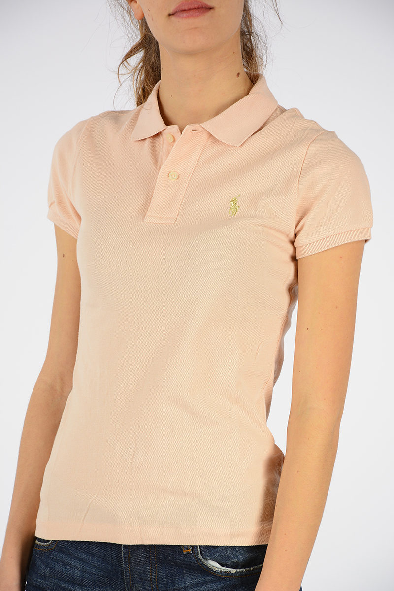 d1a0d953bbeb Polo Ralph Lauren Polo Skinny in Cotone donna - Glamood Outlet