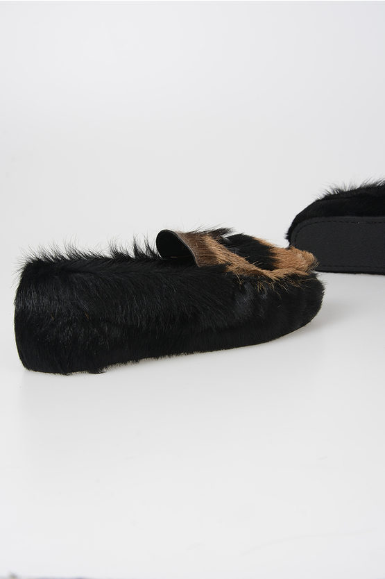 Pony Skin Loafers