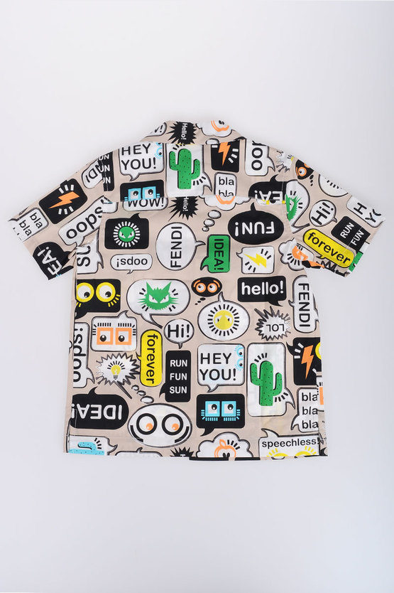 Popeline Comics Printed Shirt