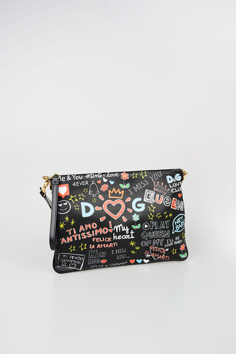 0ee372cd5 Dolce   Gabbana Printed CLEO Pochette women - Glamood Outlet