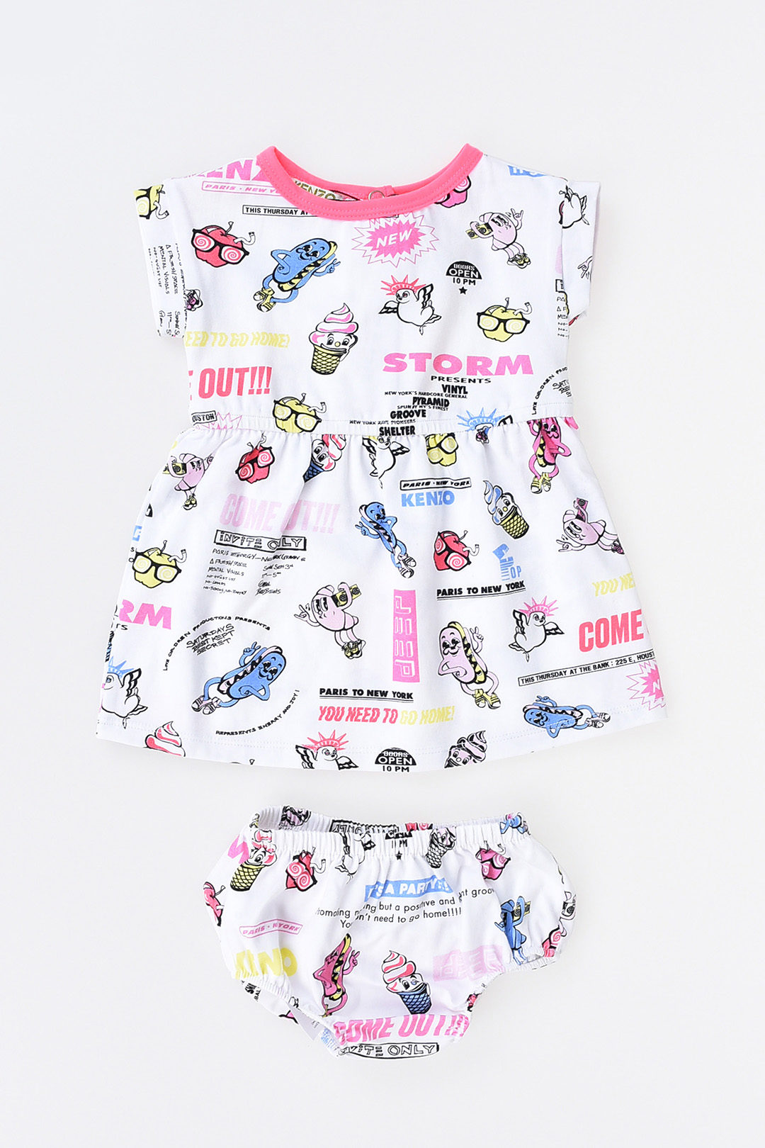 2fd6e646e Kenzo Kids Printed Dress girls - Glamood Outlet