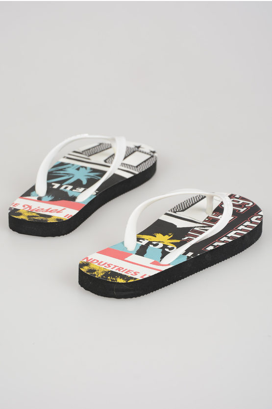 Printed GRAPHIC Flip Flop