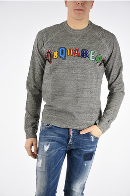 -30%. Dsquared2 Printed SEXY MUSCLE FIT Sweatshirt 41070ba5b77d
