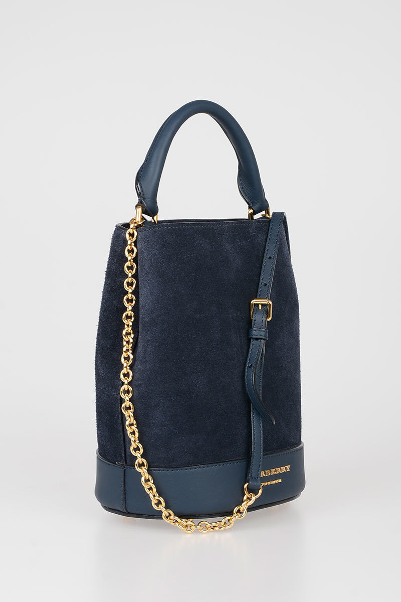 Burberry Prorsum Borse.Burberry Prorsum Borsa Secchiello In Suede Donna Glamood Outlet