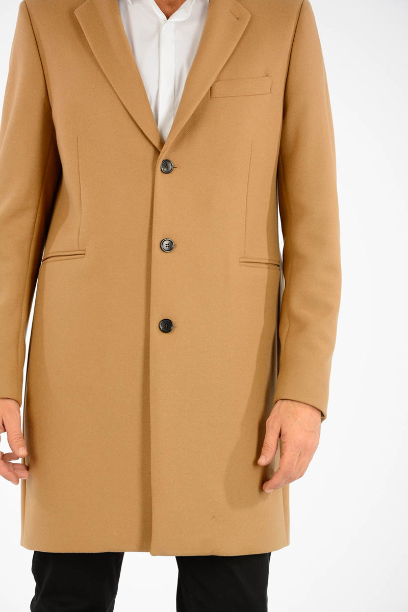 Paul Smith PS Wool Blend Coat men - Glamood Outlet 8848ee113f3