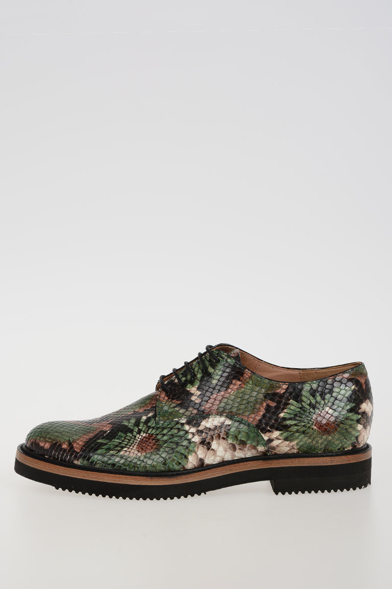 4e226686af1 Dries Van Noten Python Printed Leather shoes women - Glamood Outlet