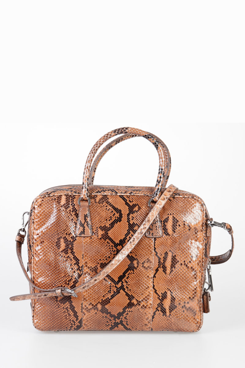 4c0b0443690 Prada Python Skin Bag women - Glamood Outlet
