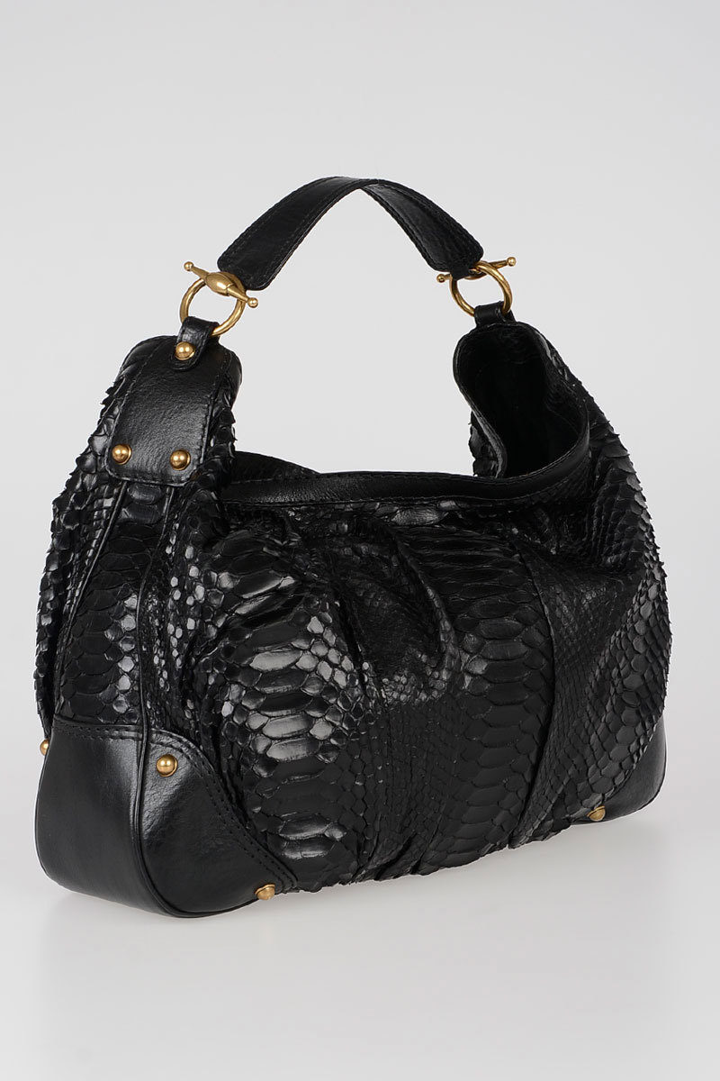 ede94e8c3cc Gucci Python Skin Hobo Bag women - Glamood Outlet