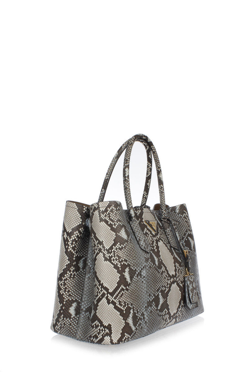 cb5f0ab8e6b Prada Python Skin Shopping Bag women - Glamood Outlet