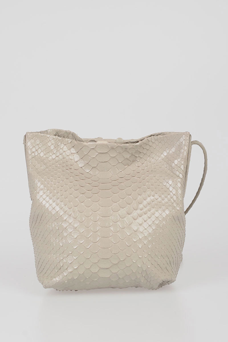 cf23c4780c2 Rick Owens Python Skin SMALL ADRI Shoulder Bag women - Glamood Outlet