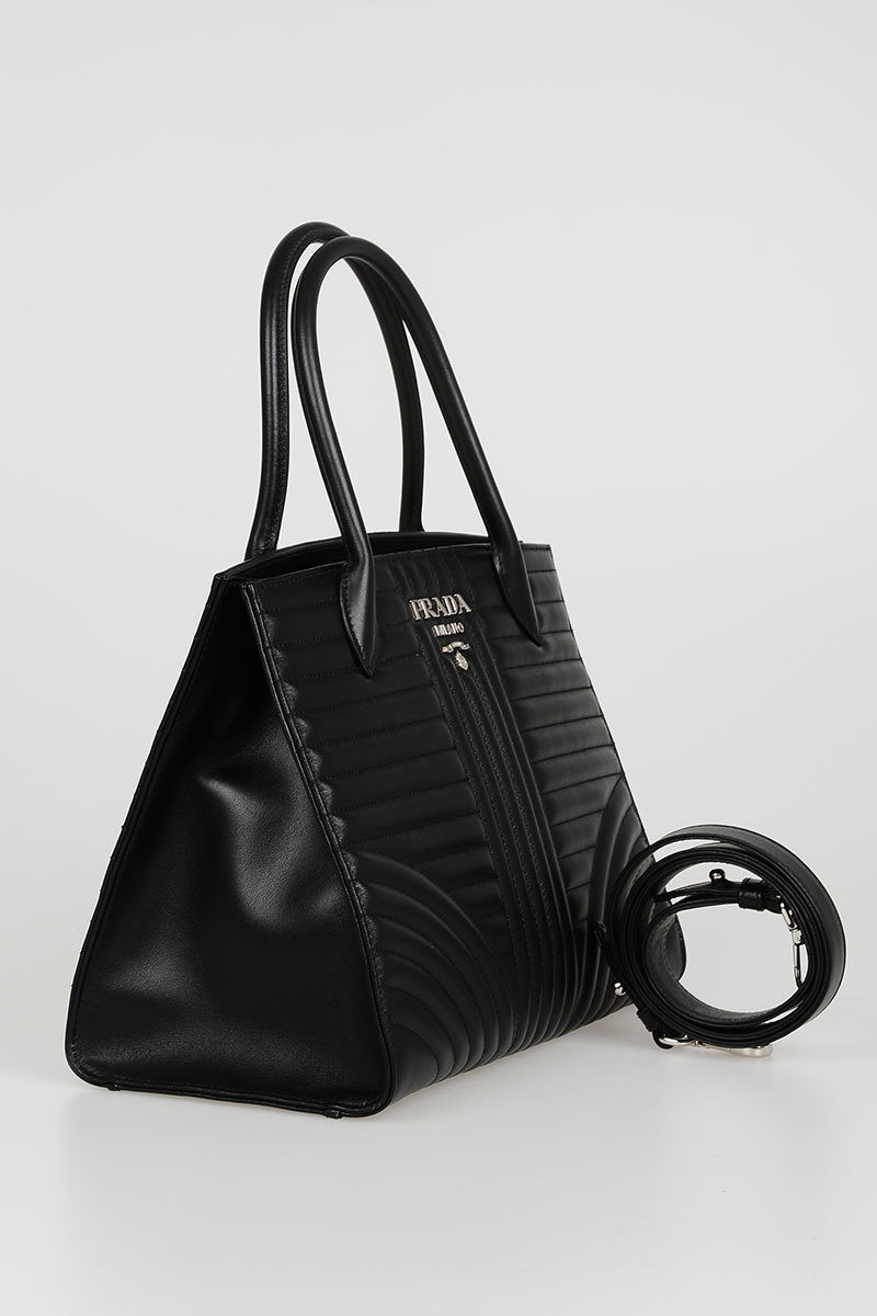 d9b71e7b77f3 Prada Quilted Leather Tote Bag women - Glamood Outlet
