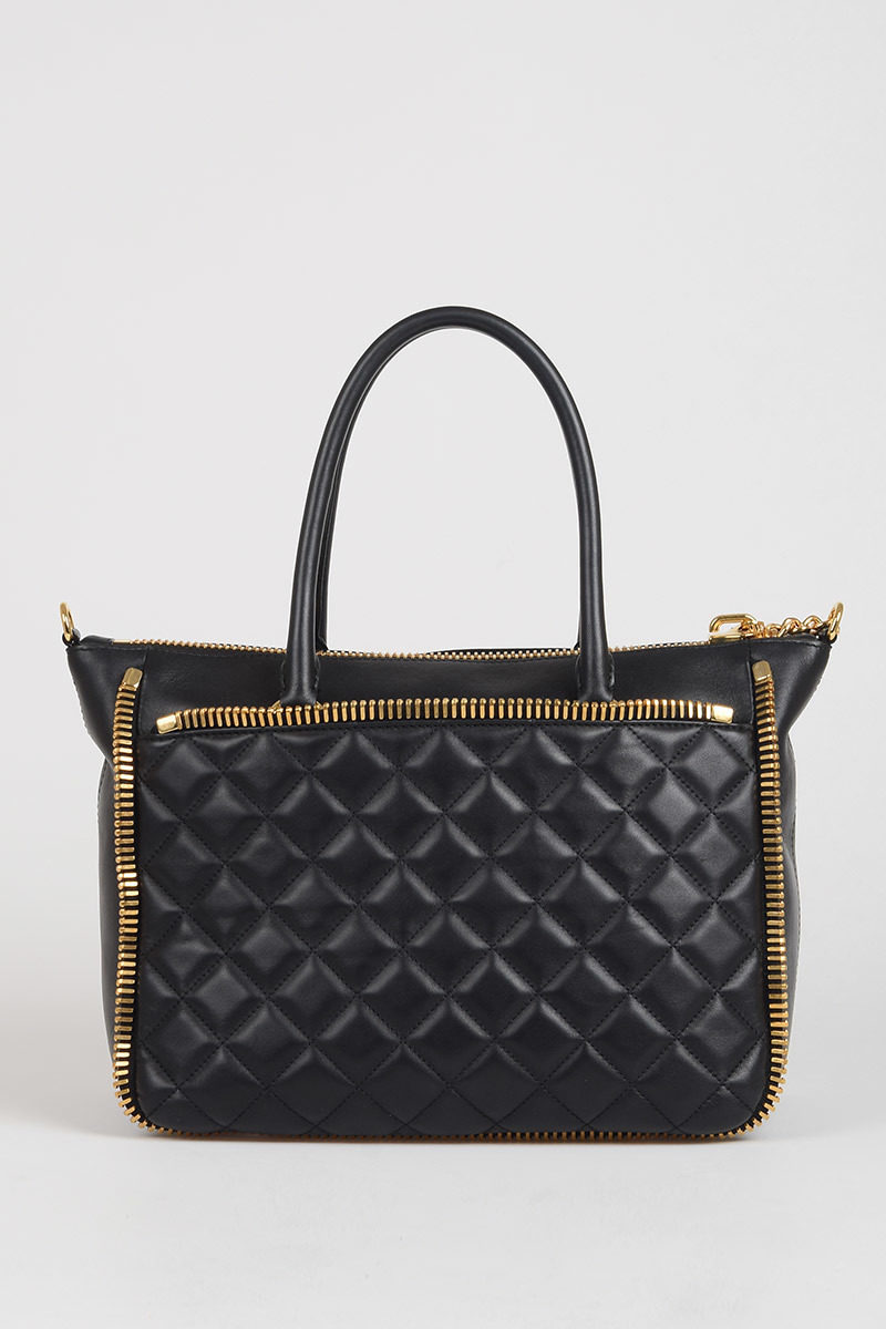 4651067322f8 Moschino Quilted Leather Tote Bag women - Glamood Outlet