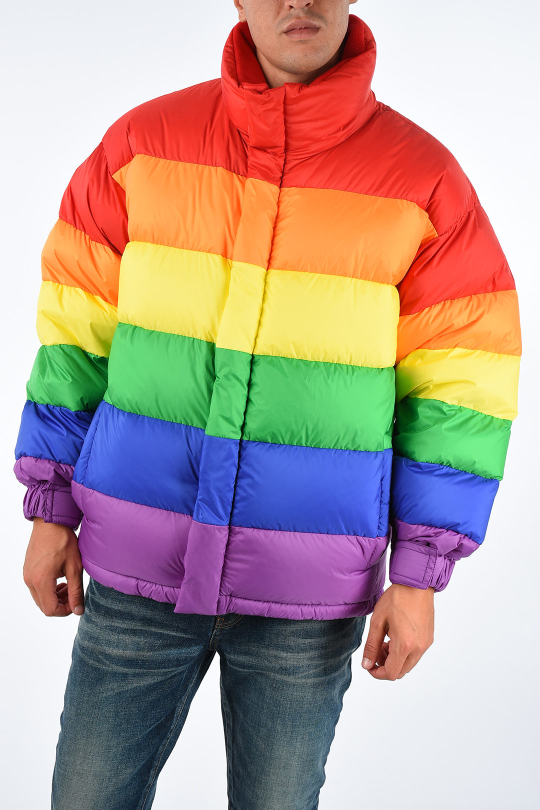 best online beauty professional sale Burberry Rainbow Down Padded Jacket men - Glamood Outlet