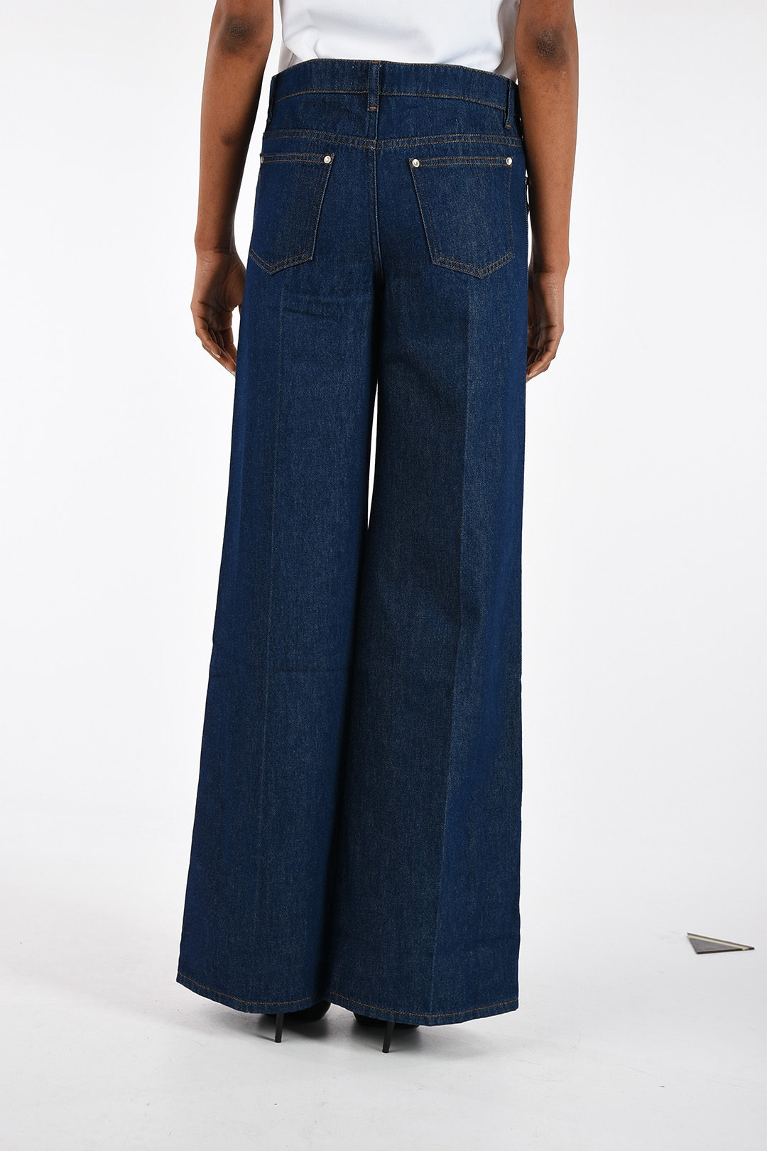 daaca245b Valentino RED 30cm Jeans with Lateral Buttons women - Glamood Outlet