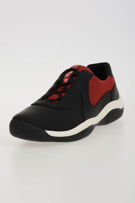 Red Black Bi color Sneakers