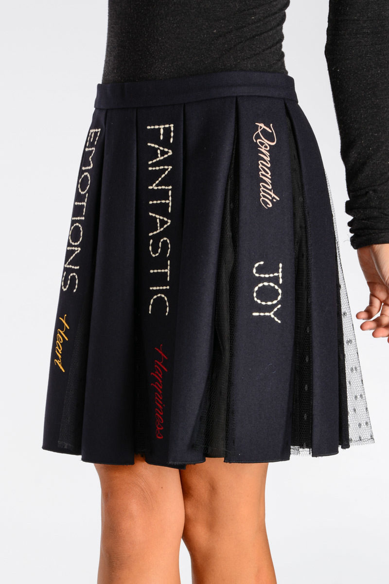 4b0a6da12 Valentino RED VALENTINO Pleated Skirt women - Glamood Outlet