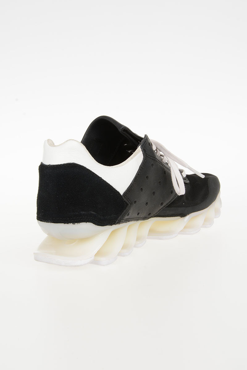 info for 3b09d 6654c RICK OWENS by ADIDAS Leather SPRINGBLADE Sneakers Shoes