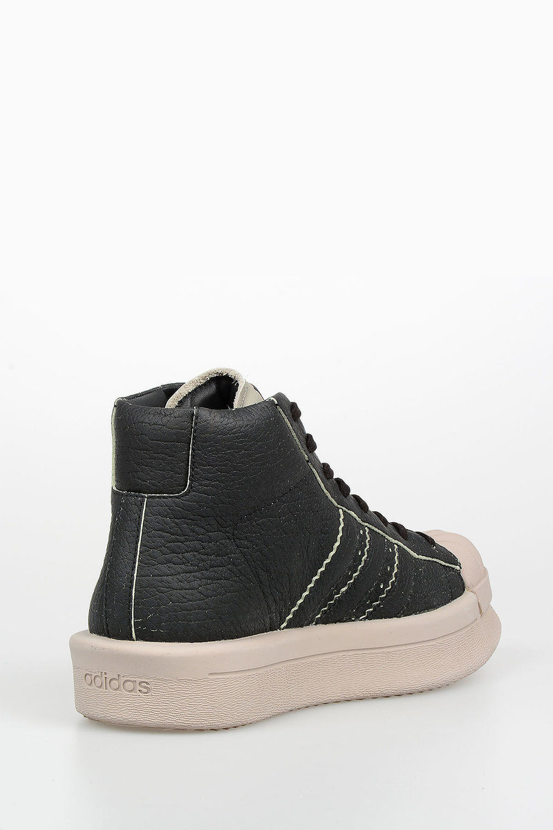 RICK OWENS FOR ADIDAS Leather MASTODON PRO MODEL Sneakers
