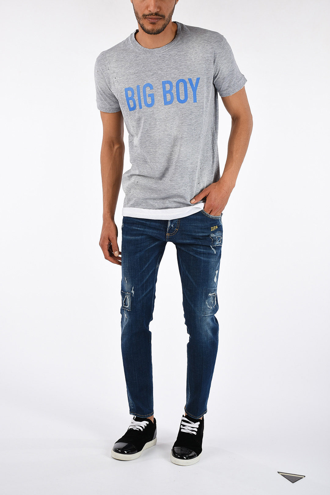 5919e93b Dsquared2 Round Neck BIG BOY T-shirt men - Glamood Outlet