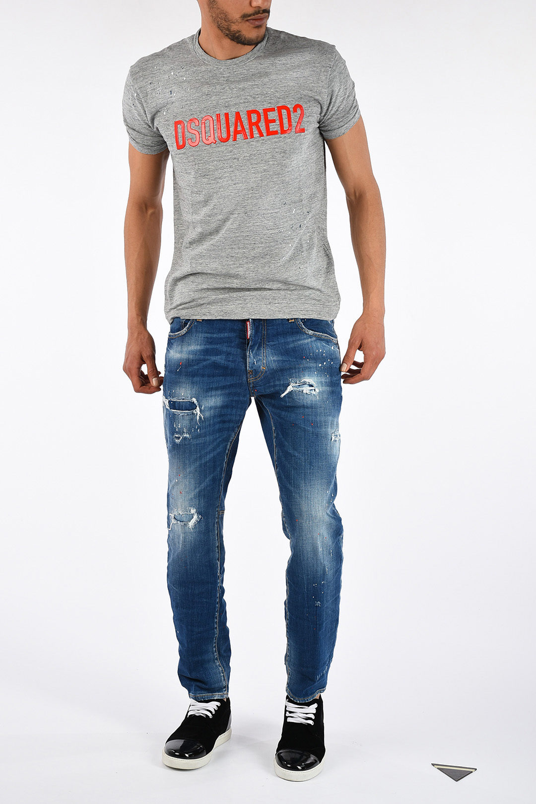 546ee195dc4 Dsquared2 Round Neck T-shirt men - Glamood Outlet