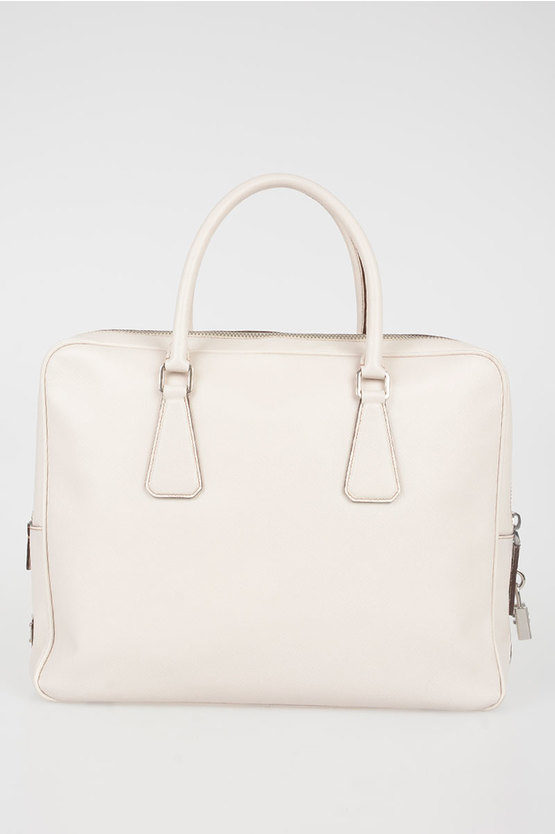 Saffiano Leather Weekend Bag