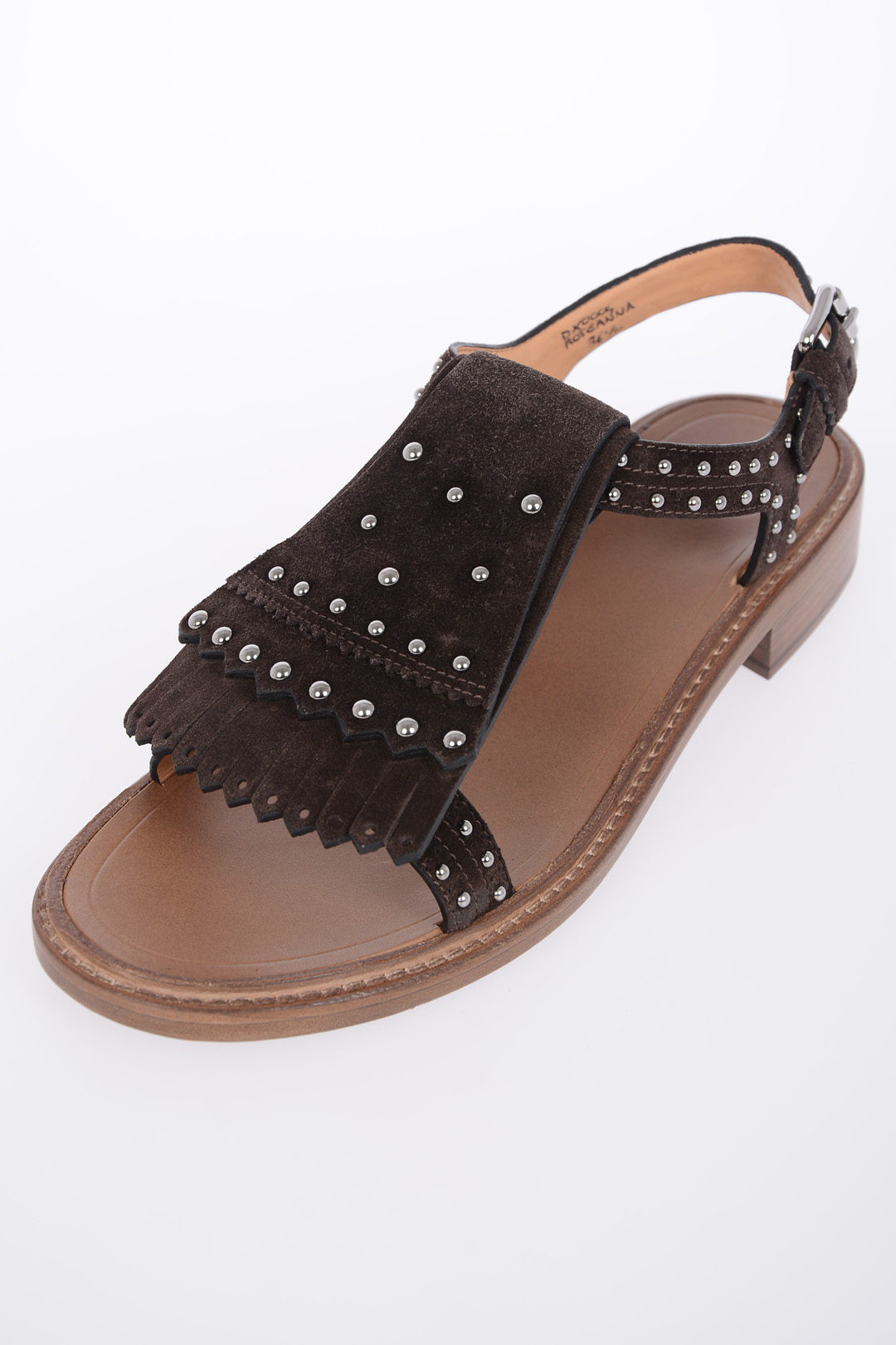In Lj543ar Borchie Con S Outlet Suede Glamood Donna Church Sandali lJTK1cFu3
