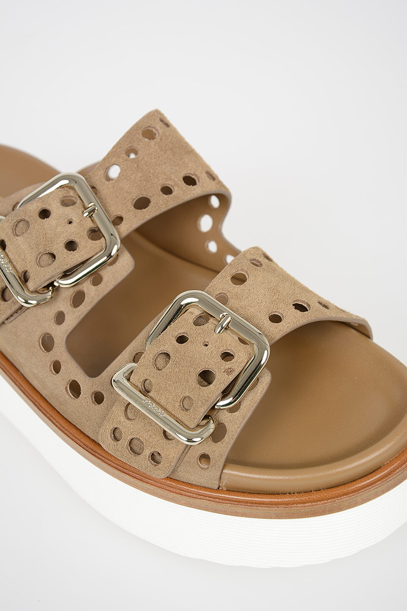 47f4a5070fa7 Tods Sandalo con Platform donna - Glamood Outlet
