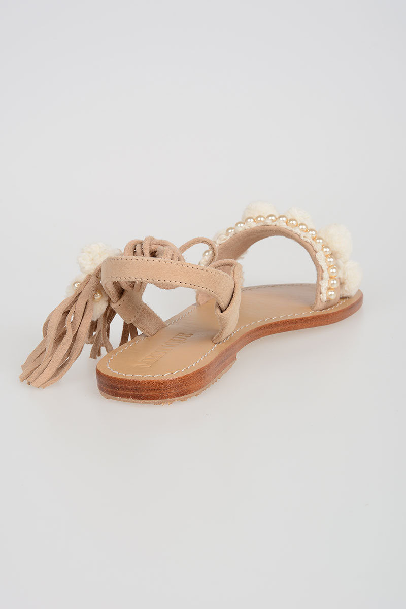 d7054ee995fba0 Mystique Sandals with Embroidery women - Glamood Outlet