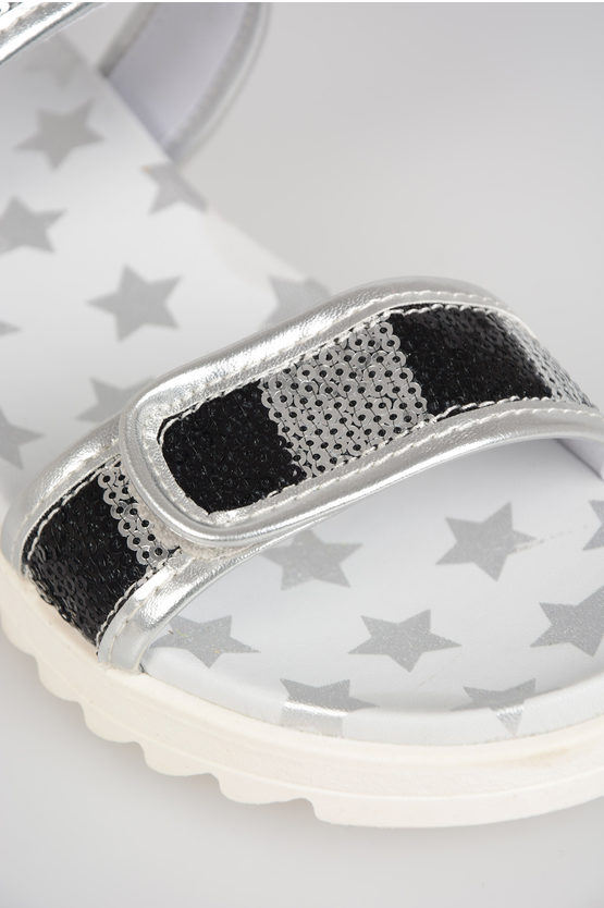 Sequined 6 STARS Sandals