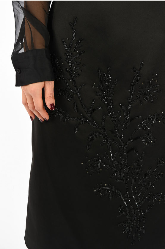 Sequins Embroidered Skirt