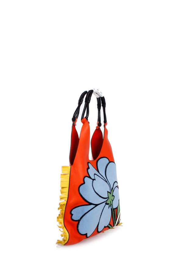 Shopping Bag with Fringes