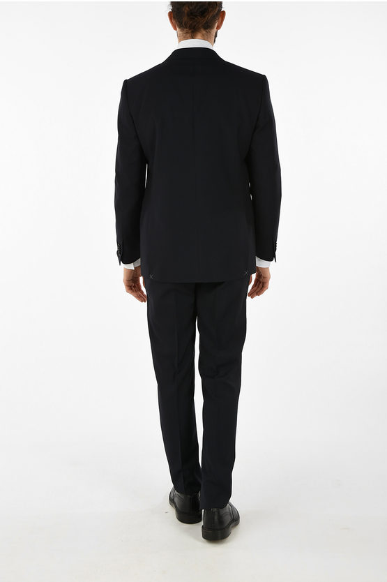 side vents tattersall check MANTUA 2-button suit