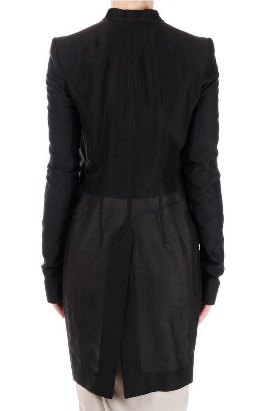 Silk and Cotton Blend PLINTH JKT Coat
