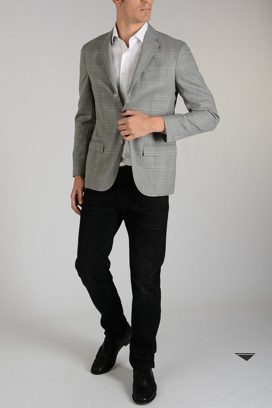 Silk And Virgin wool Blazer