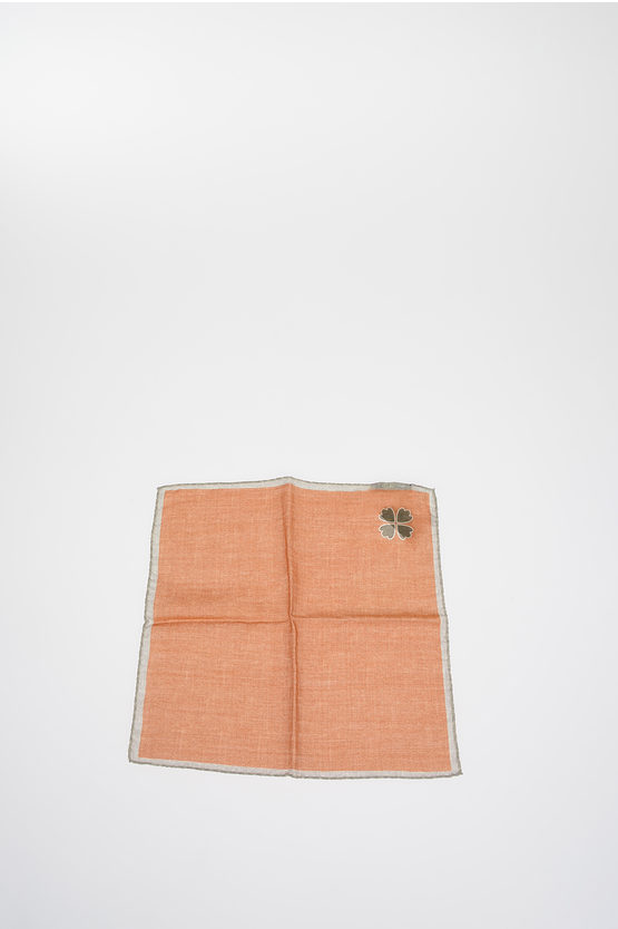 Silk and Wool Pocket Square