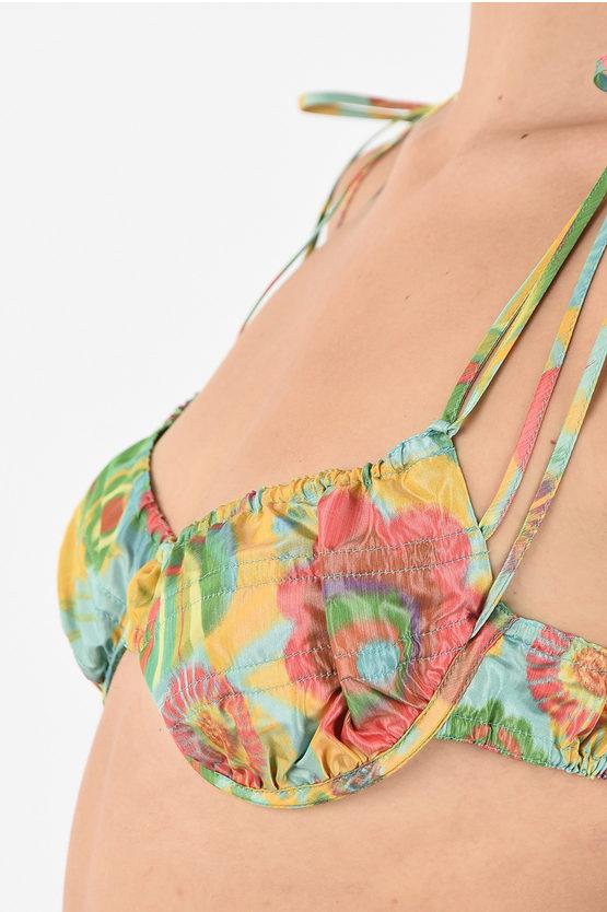 Silk Blend Print bikini