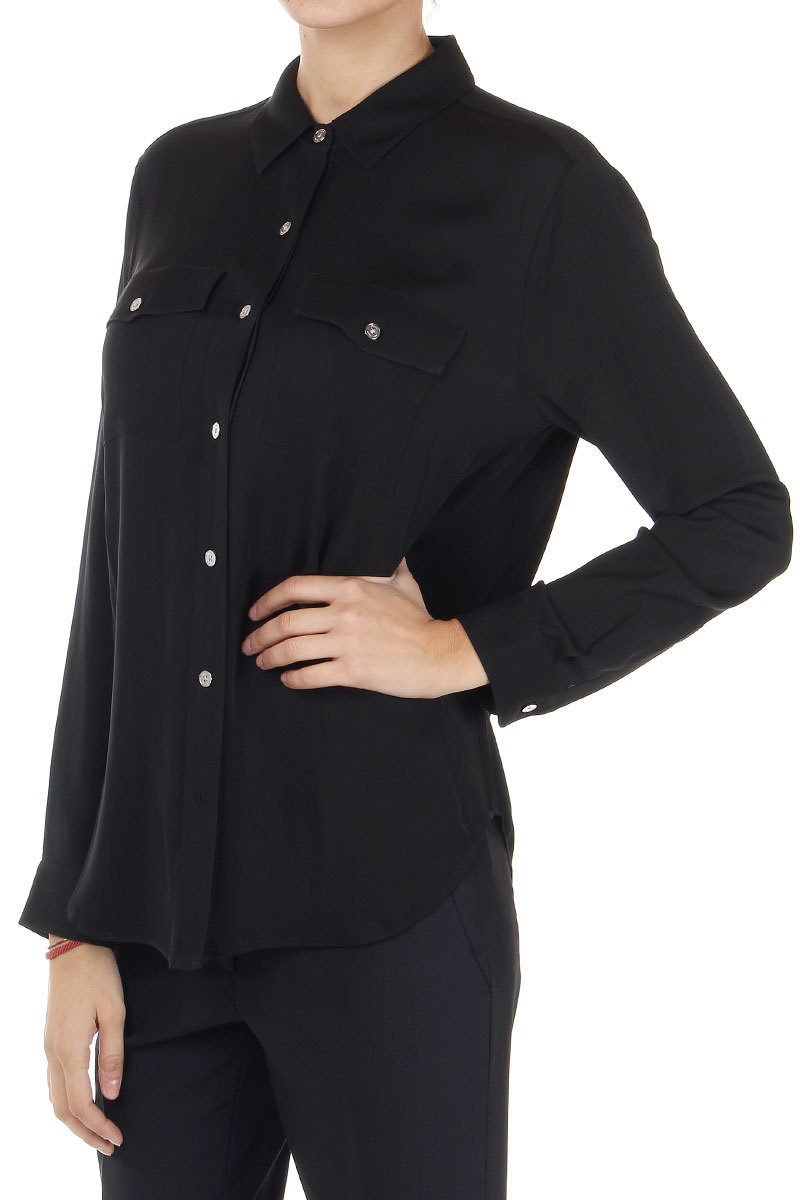 59c1a6f8c0c Michael Kors Silk Shirt with 2 Breast Pockets women - Glamood Outlet