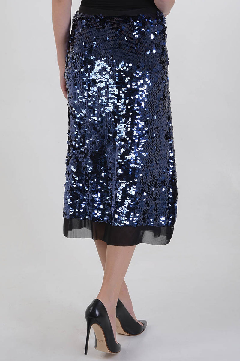3776bdfa0fd Tory Burch Skirt with Paillette women - Glamood Outlet
