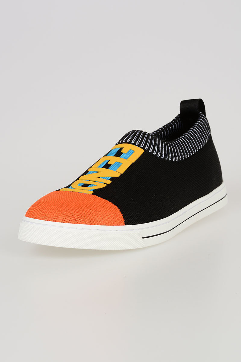 Slip on in Tessuto con Stampa