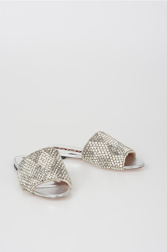 Slipper with Strass