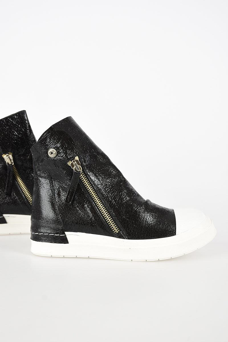 Sneakers Donna Pelle In Cinzia Alte Glamood Araia Outlet xqw5IXv