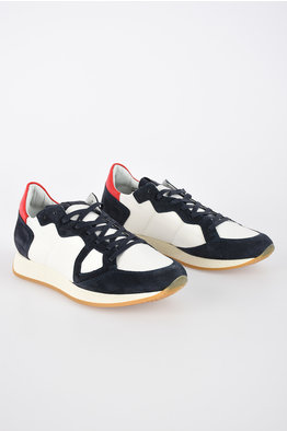 uk availability 81d31 be6c2 -45% NEW. Philippe Model Paris Sneakers Basse in Pelle e Tessuto