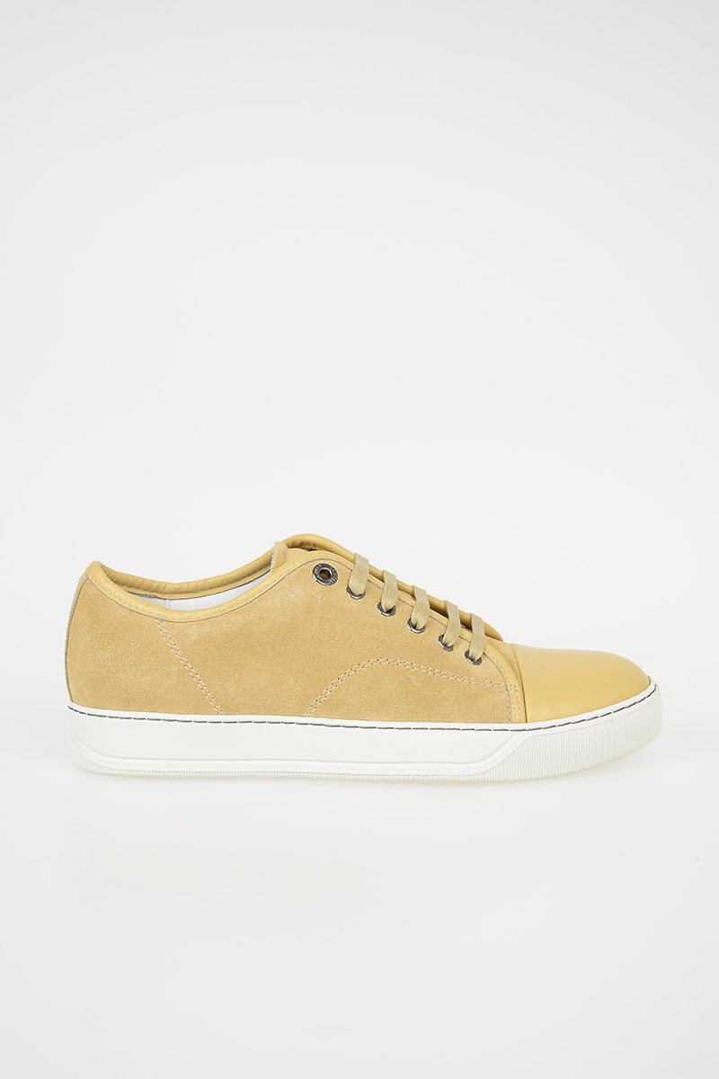 Scamosciata Sneakers In Uomo Lanvin Glamood Pelle Outlet Basse IFzwwx